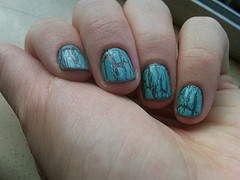 crackle nail polish photo