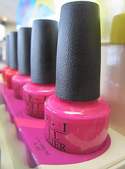 nail polish rack photo