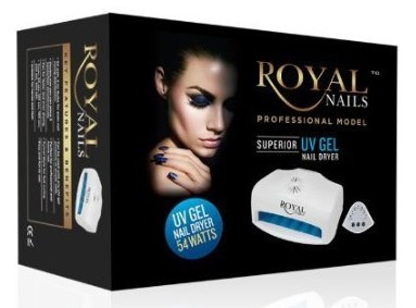 royal nails uv lamp in packaging